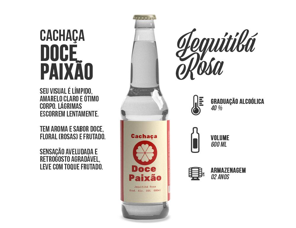 DOCE PAIXÃO - JEQUITIBÁ ROSA